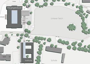 Institutsgebäude und Mensa Fachhochschule Holzminden