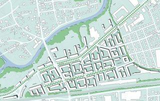 Rathaus und Nördliche Innenstadt Bad Oeynhausen