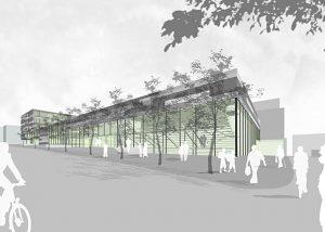 Neubau Hilda-Gymnasium Pforzheim