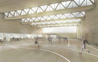 Neubau Mehrzweckhalle Lindenhalle Gerstetten 02
