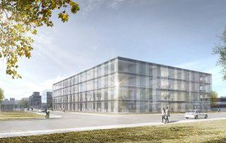 Bürogebäude Hugo Boss Metzingen 01