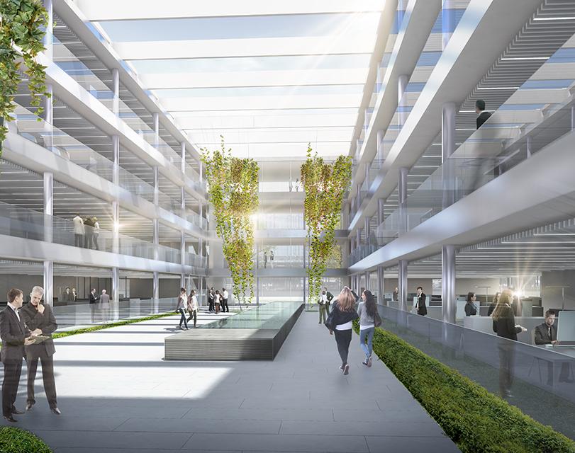 Bürogebäude und Pfortengebäude Campus Hugo Boss Metzingen ...