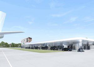 Neubau Empfangsgebäude Flughafen Berlin 01