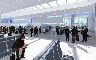 Neubau Empfangsgebäude Flughafen Berlin