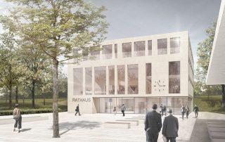 Wettbewerb Neubau Rathaus in Walzbachtal