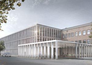 Neubau für Forschungsflächen am Robert-Rössle-Institut Campus Berlin-Buch