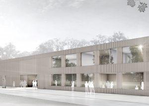 Neubau der Landesanstalt für Bienenkunde Stuttgart