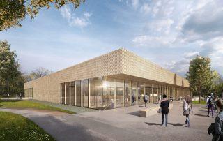 Wettbewerb Sporthalle Nellingen 01