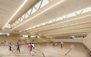 Wettbewerb Sporthalle Nellingen 02
